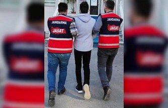 Samsun'da hakkında kesinleşmiş hapis cezası bulunan kişi jandarma ekiplerince yakalandı