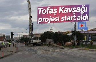 Tofaş Kavşağı projesi start aldı