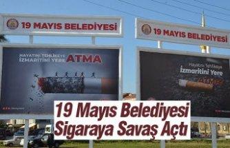 19 Mayıs Belediyesi Sigaraya Savaş Açtı