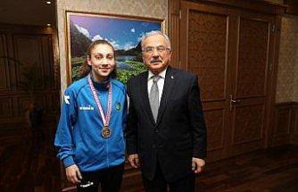 Milli boksör Gamze Soğuksu altın madalya hedefliyor