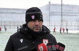 Samsunspor'da hedef oyun kalitesini artırarak bulunduğu yeri korumak