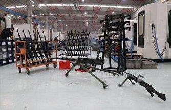 Yerli ve milli makineli tüfek güvenlik güçlerinin destekçisi olacak