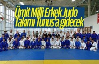 Ümit Milli Erkek Judo Takımı Tunus'a gidecek