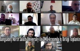 Bangladeş North South University ile OMÜ Arasında İş Birliği Toplantısı
