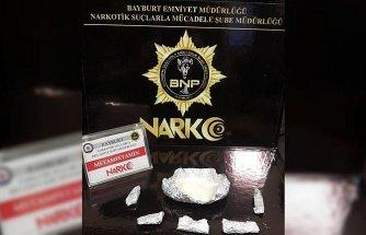 Bayburt'ta uyuşturucu operasyonunda bir kişi tutuklandı