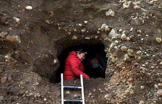 Samsun'da toprak kayması sonucu Helenistik dönemde kullanılan mezar ortaya çıktı