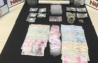 Düzce'de uyuşturucu operasyonunda yakalanan 2 kişi tutuklandı