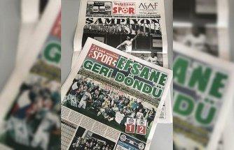 Giresun yerel basınında Süper Lig sevinci