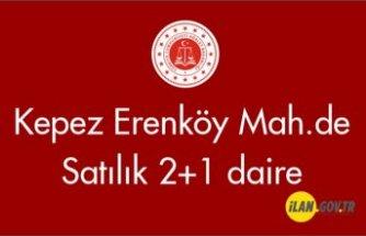Kepez Erenköy Mah.de 2+1 Satılık daire