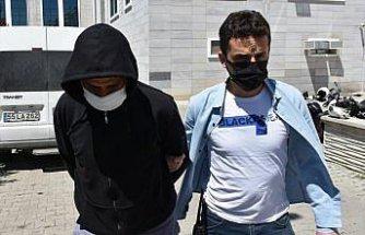 Samsun'da kendisini filyasyon ekibi görevlisi olarak tanıtarak hırsızlık yaptığı iddia edilen zanlı yakalandı
