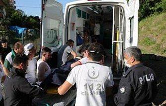 Samsun'da yaslandığı ırmak korkuluğunun kırılmasıyla yüksekten düşen çocuk yaralandı