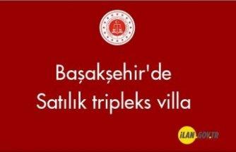 Başakşehir'de tripleks villa Satılık