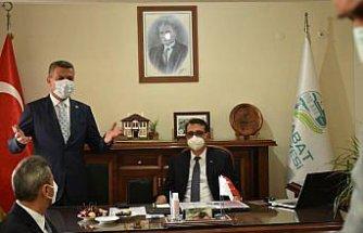 Enerji ve Tabii Kaynaklar Bakanı Fatih Dönmez Sinop'ta halka hitap etti: