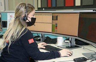 Karabük'te 112 Acil Çağrı Merkezine yapılan çağrıların yüzde 80'i