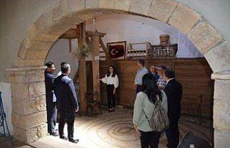 Kenan Yavuz Etnografya Müzesi TÜRSAB heyetini ağırladı