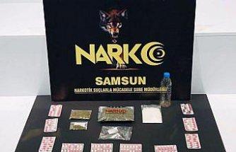 Samsun'da düzenlenen uyuşturucu operasyonunda 3 şüpheli yakalandı