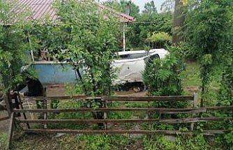 Samsun'da otomobil ile hafif ticari araç çarpıştı: 4 yaralı