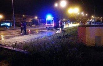Samsun'da otomobilin çarptığı bisiklet sürücüsü yaşamını yitirdi