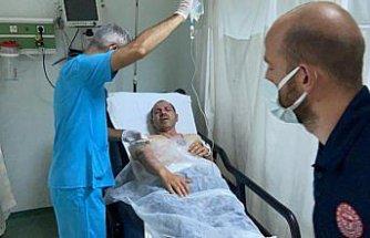 Samsun'da restoranda doğal gaz patlaması: 1 yaralı