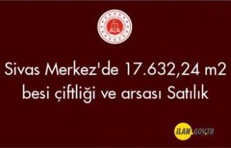 Sivas Merkez'de 17.632,24 m² besi çiftliği ve arsası Satılık