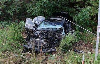 GÜNCELLEME - Kastamonu'da memurları taşıyan otobüs ile otomobil çarpıştı: 18 yaralı