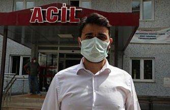 Trabzon'da Kovid-19 aşısı olmak istemeyen kadını, Vali Ustaoğlu ikna etti