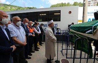 Cumhurbaşkanı Erdoğan, Bozkurt'taki selde hayatını kaybeden vatandaşın cenaze namazına katıldı