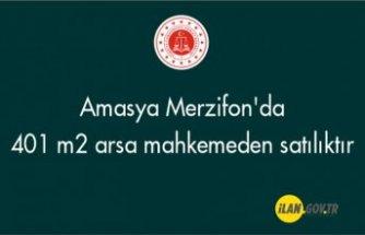 Amasya Merzifon'da 401 m² arsa mahkemeden satılıktır