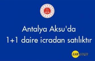 Antalya Aksu'da 1+1 daire icradan satılıktır