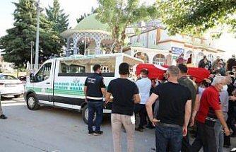 Beyin kanaması sonucu hayatını kaybeden jandarma uzman çavuş Amasya'da toprağa verildi