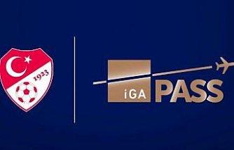 İGA Pass, Türkiye Futbol Federasyonu'na sponsor oldu