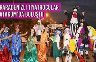 Karadenizli Tiyatrocular Atakum'da Buluştu