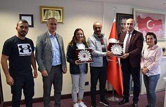 Milli boksör Buse Naz Çakıroğlu hedeflerini anlattı: