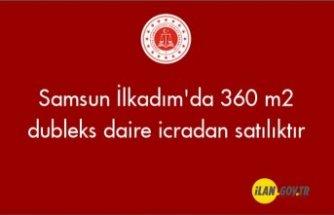 Samsun İlkadım'da 360 m2 dubleks daire icradan satılıktır