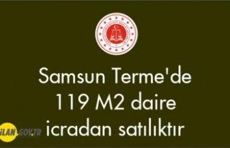 Samsun Terme'de 119 m² daire icradan satılıktır