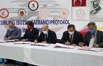 Samsun'da curling sporcuları yetiştirilmesi için protokol imzalandı