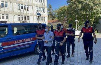 Samsun'daki arazi cinayetinin şüphelileri adliyede