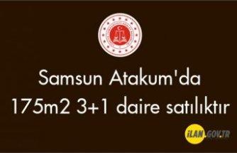 Samsun Atakum'da 175m² 3+1 daire icradan satılıktır