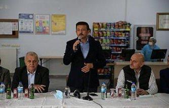 AK Parti Genel Başkan Yardımcısı Dağ, Giresun'da KYK yurdunda öğrencilerle buluştu: