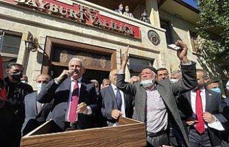 AK Parti Genel Başkanvekili Binali Yıldırım Bayburt'ta vatandaşlara hitap etti: