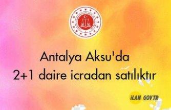 Antalya Aksu'da 2+1 daire icradan satılıktır