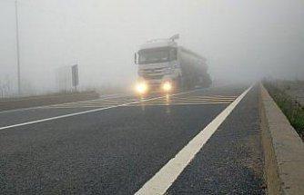 Bolu Dağı'nda sis ulaşımı olumsuz etkiliyor