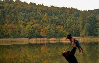 Düzce Kurugöl Tabiat Parkı'nda renk cümbüşü yaşanıyor