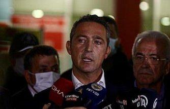 Fenerbahçe Kulübü Başkanı Ali Koç, Trabzonspor maçını değerlendirdi: