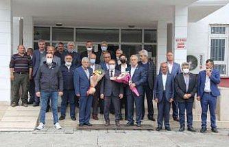 Havza'da 19 Ekim Muhtarlar Günü kutlandı