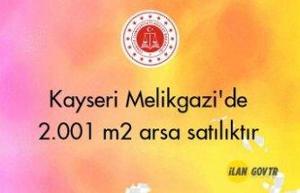 Kayseri Melikgazi'de 2.001 m² arsa satılıktır