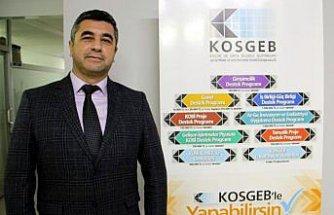 KOSGEB'den Sinop'taki işletmelere 10 yılda 151 milyon lira destek