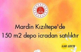 Mardin Kızıltepe'de 150 m² depo icradan satılıktır