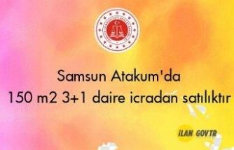 Samsun Atakum'da 150 m² 3+1 daire icradan satılıktır