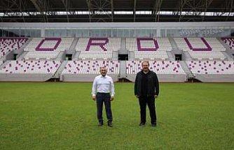 TFF yetkilileri Yeni Ordu Stadı'nda incelemelerde bulundu